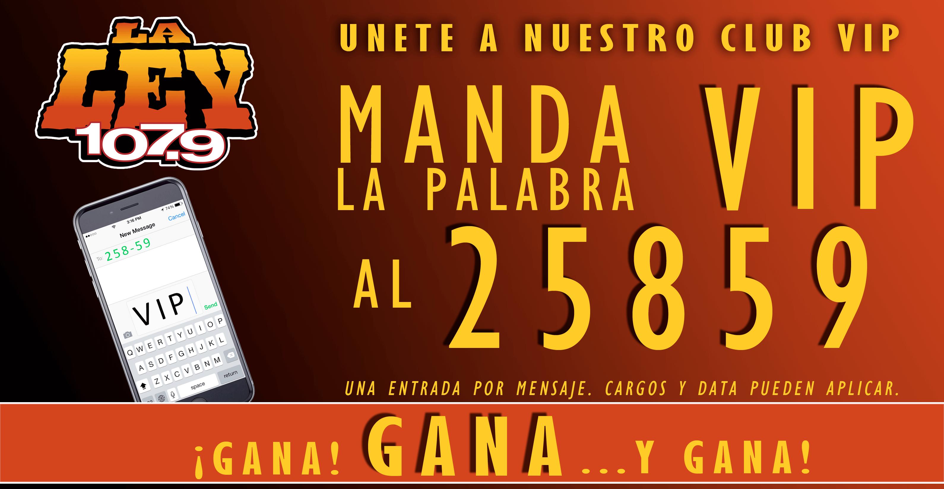 Unete a nuestro club vip hoy la ley 107 9 fm for Noticias farandula argentina hoy